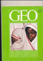 MAGAZINE GEO / N° 17 / JUILLET  1980 / ZIMBABWE / BRESIL / CALIFORNIE / TRANSSIBERIEN - Geography