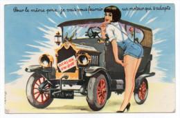 """PIN-UP--illustrateur-""""Occasion Unique""""-Pour Le Même Prix......un Moteur Qui S'adapte--voiture,fille-cachet LE CAILLAR-30 - Pin-Ups"""