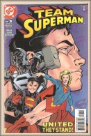 TEAM SUPERMAN -  Editions DC - United They Stand  N° 1  JUL 1999 - Magazines