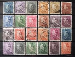 Belgique - Belgïe - Belgium - Lot Mh* & Oblitérés -  Parfait état - Voir 1 Scan(s) - 1936-1951 Poortman