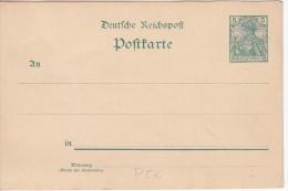 Deutsches Reich Mi P 50 II Ungelaufen [230615BI] @ - Entiers Postaux