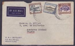 Samoa - Lettre - Samoa Americano