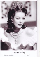 LORETTA YOUNG - Film Star Pin Up - Publisher Swiftsure Postcards 2000 - Artistes