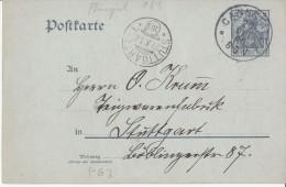 Deutsches Reich Mi P 63 X Gelaufen [230615BI] @ - Ganzsachen