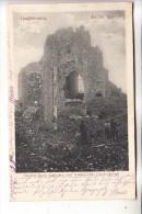 B 8920 LANGEMARK, Kirche, Zerstörungen Kirche 1.Weltkrieg, 1915. Deutsche Feldpost - Langemark-Poelkapelle