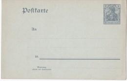 Deutsches Reich Mi P 63 X Ungelaufen (mit Text Auf Der Rückseite) [230615BI] - Entiers Postaux