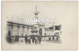 Exposition De LILLE 1902 - Palais De L'Agriculture (animée, Kiosque Bière La Lilloise) - N° 22 - Lille