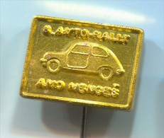 8. AVTO RALLY - AMD MENGES, Car, Auto, Automobile, Vintage Pin  Badge - Car Racing - F1