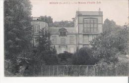 MEDAN (S ETO) LA MAISON D'EMILE ZOLA  1905 - Medan