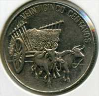 République Dominicaine Dominican Republic 25 Centavos 1989 KM 71.1 - Dominicana
