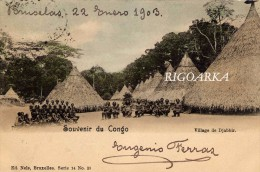 VILLAGE DE DJABBIR - Congo Belga - Otros