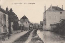 CPA - Is sur Tille - Rue de l'H�pital