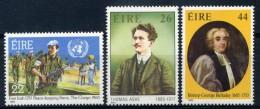 1985 IRLANDA SERIE COMPLETA 3 VALORI NUOVA** - 1949-... Repubblica D'Irlanda
