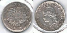 ARGENTINA 10 CENTAVOS  PESO 1882 PLATA SILVER - Argentina