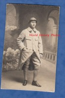 Photo Ancienne - Portrait Du Poilu Maurice Austry ? Lire Verso - 2e Régiment De Génie , Voir Casque - 13 Février 1916 Ww - War, Military
