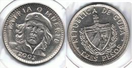 CUBA 3 PESOS ERNESTO CHE GUEVARA 2002 - Cuba