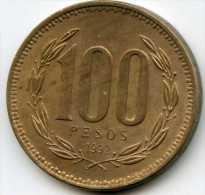 Chili Chile 100 Pesos 1992 KM 226.2 - Chili