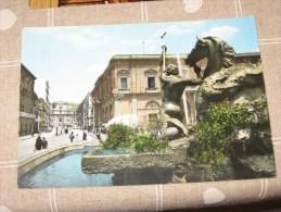 CALTANISETTA 1954 CORSO UMBERTO COLORI   VG                    Qui Entrate!!! - Caltanissetta