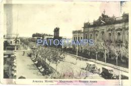11466 ARGENTINA MERCEDES BUENOS AIRES AVENIDA MITRE SPOTTED POSTAL POSTCARD - Argentinien
