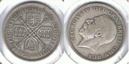 R.U. INGLATERRA JORGE V FLORIN 1936 PLATA SILVER D21 - Commerce Extérieur, Essais, Contremarques Et Surfrappes