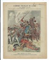 Couverture De Cahier..L´EMPIRE FRANCAIS DE L´INDE N 6 : Bussy Conquiert Les Circars - Vieux Papiers