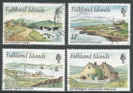 Falkland Islands. 1981 Early Settlements. Used Complete Set. SG 388-391 - Falkland Islands