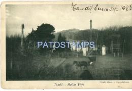 11478 ARGENTINA TANDIL BS AS MILL MOLINO VIEJO YEAR 1923 POSTAL POSTCARD - Argentina