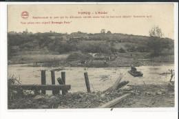 08 VONCQ L'AISNE EMPLACEMENT DU PONT QUE LES ALLEMANDS ONT FAIT SAUTER LORS DE LEUR RECUL DEFINITIF NOVEMBRE 1918 - France