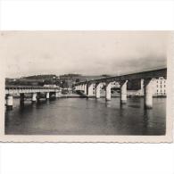ASTRATP2793-LFTD3267.Tarjeta Postal DE ASTURIAS..Edificios.PUENTES SOBRE EL RIO NAVIA Y VISTAS - Asturias (Oviedo)
