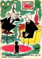 "Lot De 4 Cartes - ""Les Vieilles Dames"" De Jacques FAIZANT - Faizant"