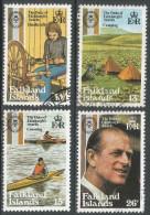 Falkland Islands. 1981 25th Anniv Of Duke Of Edinburgh Award. Used Complete Set. SG 405-408 - Falkland Islands