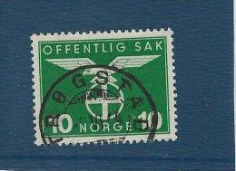 Norgeskatalogen T 50. Postmark: Trøgstad.    T-1 - Service