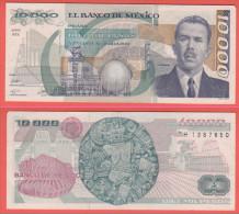 Messico 10000 Pesos 1988 Serie MX - Mexique