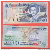Eastern Caribbean Caraibi  10 $ 2003    Saint Lucia - Caraïbes Orientales