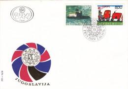 YUGOSLAVIA JUGOSLAVIJA  PREMIER JOUR 1976 BEOGRAD FDC RADOST EVROPE - FDC