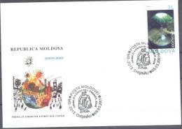 2001. Moldova, Europa 2001, FDC, Mint/** - Moldova