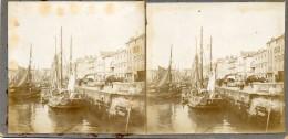 LA ROCHELLE-PHOTO DOUBLE-2x(8cm Sur 8.5cm)-ANIMEES SUR SUPPORT CARTONNE - La Rochelle