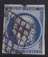 France N°4a Bleu Foncé - Oblitéré - TB - 1849-1850 Cérès