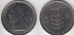 Belgio 5 Francs 1950 (Belgie) Km#135.1 - Used - 1945-1951: Régence
