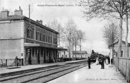 "SAINT PIERRE DE BOEUF   ""La Gare"" - Other Municipalities"