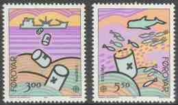 Faroër Faroe Islands 1986 Mi 134 /5 YT 128 /9 Sc 143 /4 ** Nature And Environmental Protection / Natur- Und Umweltschutz - Faeroër