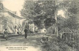 77  LES ORMES SUR VOULZIE   Le Lavoir De La Route De Bray     2scans - Otros Municipios