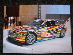 BMW M3 GT2  LE MANS 2010 JEFF KOONS - Le Mans