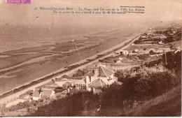 14. Vierville Sur Mer. La Plage Coté Est. Villa Les Algues - France