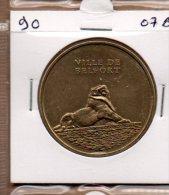 Monnaie De Paris : Ville De Belfort 700 Ans  - 2007 - Monnaie De Paris