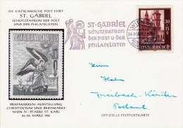 ÖSTERREICH 1956 - 30+15 Gro (Ank 932) Auf Festpostkarte Gel.1956 - 1945-.... 2. Republik