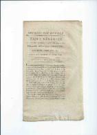 VP33 Imprimerie Royale 1815 Table Générale Par Ordre Alphabétique...lois Senatus-Consultes Décrets Arretes - Collections