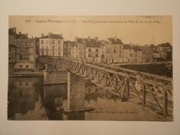 Carte Postale - LAGNY THORIGNY (77) - Passerelle Provisoire Remplaçant Le Pont De Fer (loy/1) - France