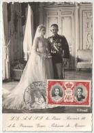 Photo Officielle Du Mariage De L.L.A.A.S.S. Le Prince Rainier III Et La Princesse Grace-Patricia De Monaco - Other