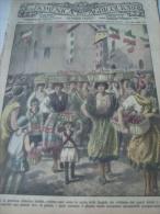 DOMENICA DELL'AGRICOLTORE 1928 NEMI EPISCOPIA POTENZA CHIOGGIA SASSARI CARPINETO ROMANO - Libri, Riviste, Fumetti